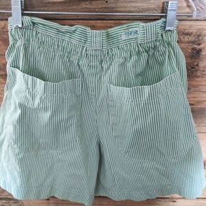 VINTAGE HIGH-WAISTED MOM SHORTS..ESPRIT..SIZE 3/4